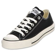 Women's Converse Chuck Taylor Ox Casual Shoes | FinishLine.com | Black