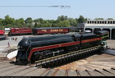 RailPictures.Net Photo: 611 Norfolk & Western Steam 4-8-4 at Spencer, North Carolina by Norfolk Southern Corp