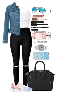 """""""Untitled #1442"""" by fabianarveloc ❤ liked on Polyvore featuring Ray-Ban, Topshop, Tommy Hilfiger, Givenchy, NIKE, Smashbox, Sara Happ, Elie Saab, Yves Saint Laurent and Rolex"""
