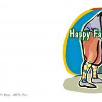 Get free printable father's day Greeting cards. Check out our huge selection of fathers day cards to print. Happy Fathers Day Cards, Father's Day Greeting Cards, Dads, Golf, Printables, Print Templates, Fathers, Turtleneck