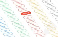 Free Download : CSS Outlined Icon Buttons
