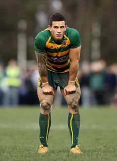 Them arms and thighs...... Dayum. Sonny Bill Williams