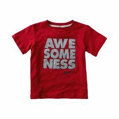 "Nike ""Awesomeness"" Toddler Boys' T-Shirt"