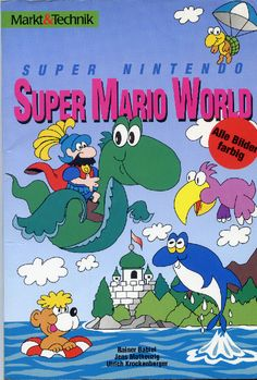 German Super Mario World guide.