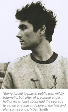 Dan Smith Bastille. Lets face it he is bloody gorgeous