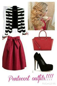 Pentecost outfits!!!! Modest Church Outfits, Cute Modest Outfits, Church Attire, Really Cute Outfits, Modest Fashion, Apostolic Fashion, Modest Clothing, Putting Outfits Together, Pentecostal Outfits
