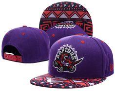 d435fb6d Mens Toronto Raptors New Era NBA HWC Hardwood Classics Cross Colors Aztec  Visor 9FIFTY Snapback Cap - Purple