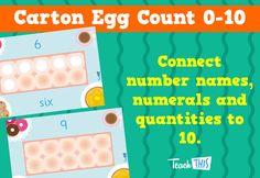 Carton Egg Count - 10-Frames - 0-10