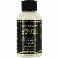 Caswell Massey by Caswell-Massey by Caswell Massey. $23.75. It is recommended for wear. This Fragrance is for MEN. 1752 Sandalwood After Shave Balm --2oz. Smells of. Launched by Caswell-Massey in. Caswell Massey by Caswell-Massey 1752 Sandalwood After Shave Balm --2oz for MENFragrance Notes: When applying any fragrance please consider that there are several factors which can affect the natural smell of your skin and, in turn, the way a scent smells on you.  For instance, yo...