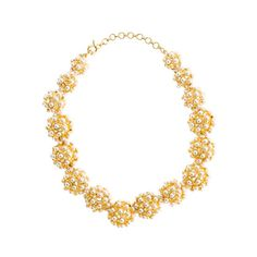 Pearl ball choker necklace - necklaces - Women's jewelry - J.Crew