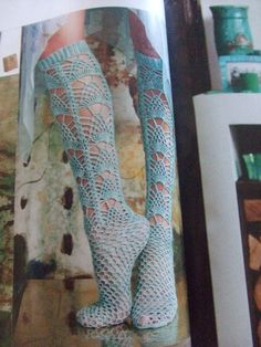 Sunday inspiration: Knit socks, vogue - Wildfox inspiration for artists - Inspiration for artists from Wildfox Couture