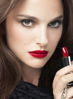 I don't just wear any old red. There are only 2 I like; one by Chanel & the other by Tom Ford. Dior is acceptable.