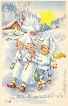Jaanas Gott o Blandat Swedish Christmas, Christmas Mood, Scandinavian Christmas, All Things Christmas, Merry Christmas, Xmas, St Lucys, Santa Lucia Day, Swedish Traditions