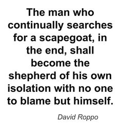 quotes about deflecting blame - Google Search