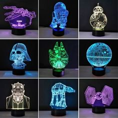 Back To Search Resultstoys & Hobbies 100% Quality Star Wars Stormtroopers Helmet Model 3d Illusion Nightlight Led Colourful Mixed Flash Light Soldier Mask Model Toys