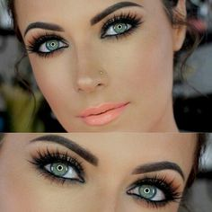 Pretty. Don't like the lip color but I can change it.