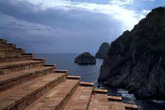 Envers du Decor. Malaparte house in the Mediterranean?