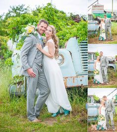 We just fell head-over-heals for this awesome local couple and their adorable two-year-old daughter. Mixing the bride's southern-charm and rustic style with the groom's surfer, let's have fun way of being, this wedding and the party that followed left nothing to be desired! From the amazing colors and cool cowgirl boots, to the bride's reception...