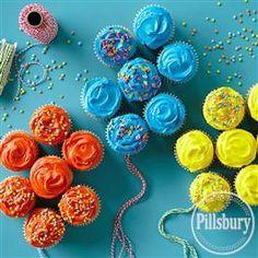 Cupcake Balloon Bouquet from Pillsbury® Baking