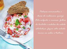 In the mood for food: Saladas de Verão