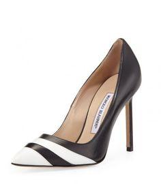 Manolo Blahnik  - primavera-estate 2014 decollete bicolor - #shoes