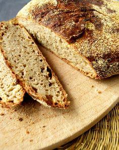 no knead bread: mijn simpele zuurdesemversie! ©Groene Prinses