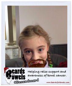 ..and here's MelonPharmer's (or Santa's) little helper for #Decembeard