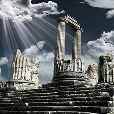 Temple of Apollo - Didyma, #Turkey