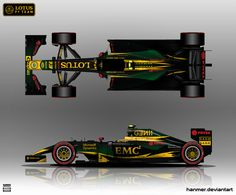 Lotus E23 2015 by hanmer.deviantart.com on @DeviantArt