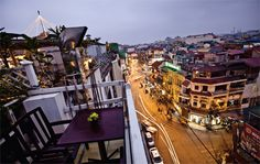 Sit six floors above Hanoi's iconic Hoan Kiem lake, at Avalon's Sky Garden in the Old Quarter and look down on the tangle of mopeds and taxis that make up the after-work rush as you sip a Wild Grass cocktail of vodka, lime, finely sliced lemongrass and lemon leaf.