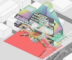 jun ong & raphael cheng design conceptual fashion temple in bangkok