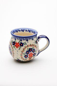 Polish Pottery - I love bubble cups