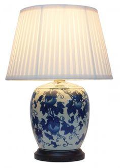 Pair of Oriental Porcelain Table Lamps. Elegant bird theme ...:Oriental lighting, Chinese Lamps and Lanterns from Shimu, UK Stone Buddha  Lamp - Peony Resin Lamp,Lighting