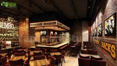 #Modern #Bar and #Restaurant #Interior #Design