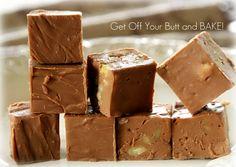 Creamy, silky chocolate fudge