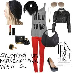 Shopping on Melrose Ave. with SL