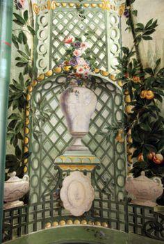 Bergl's Wonderland Walls at Schonbrunn Palace