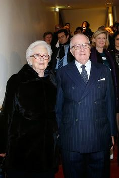 Their Majesties the KingAlbert II of Belgium and Queen Paola of Belgium attend the 'Talking to the Trees - Retour a La Vie' movie screening at Cinema l'Arlequin on 02.03.2015 in Paris, France.