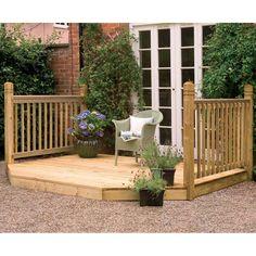 porch kits | ... Kits › Forest Garden › Forest Garden Patio Extension Deck Kit