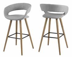 Barhocker Aaden (Set of Corrigan StudioCorrigan Studio Design Rustique, Breakfast Bar Stools, Chaise Bar, Wood Species, Flat Design, Solid Oak, Bowie, Kitchen Design, Kitchen Ideas