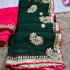 Cotton Lehenga, Georgette Sarees, Lehenga Choli, Traditional Indian Wedding, Traditional Sarees, Gota Patti Saree, Embroidery Saree, Work Sarees, Dresses Kids Girl