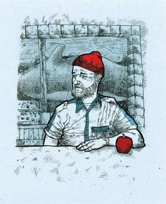 I really want a Wes Anderson tattoo. I'm just looking for the perfect representation. I'm torn between life aquatic and rushmore.