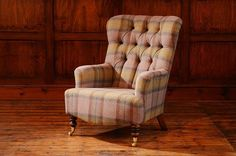 A beautifully proportioned occasional chair with a buttoned high back. Looks stunning in either fabric or leather. Chesterfield Sofas, Online Furniture Stores, Classic Interior, Winter House, Chair Fabric, Occasional Chairs, Maine House, Home Living Room, Armchair