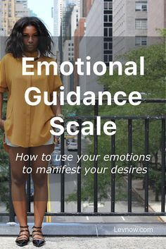 Using the Abraham-Hicks Emotional Guidance Scale. Your emotional vibrations put you on the frequency you need to manifest the things that you want.  Click to read more or pin and save it for later!