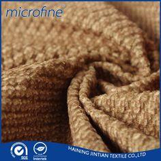 100% Polyester velvet upholstery fabric