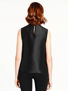 madison ave. collection seraphina top, black