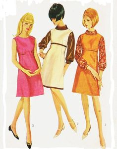 1960s Simplicity Sewing Pattern 6643 Womens Blouse by CloesCloset