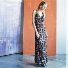 Nothing ever feels as good as our favorite patterned maxi dress.