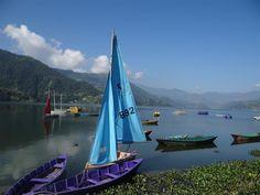 Lake Phewa, Pokhara, Nepal