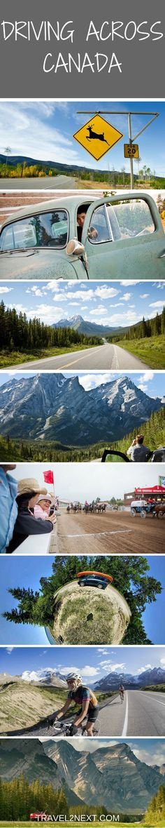Driving across Canada | How to Plan a Canadian road trip. Here is a useful guide on how to do it and routes to follow.